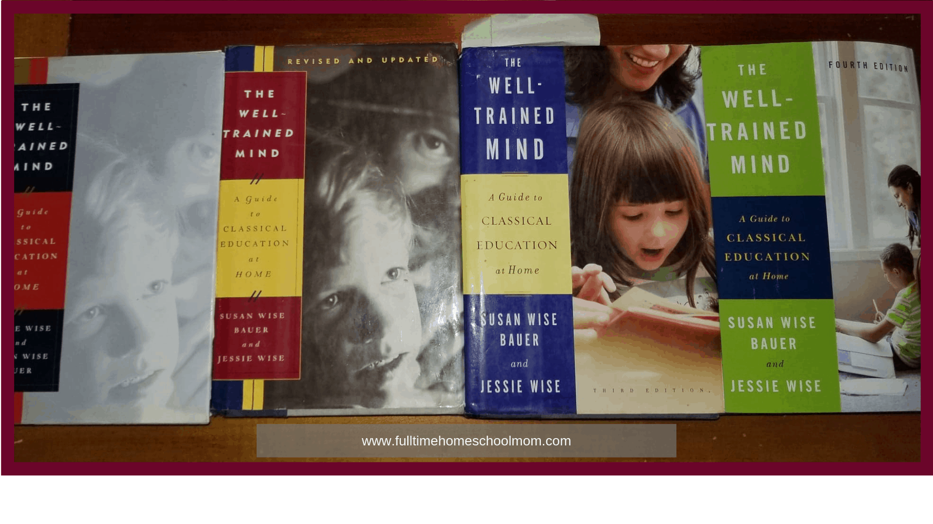 Picture of Well Trained Mind books